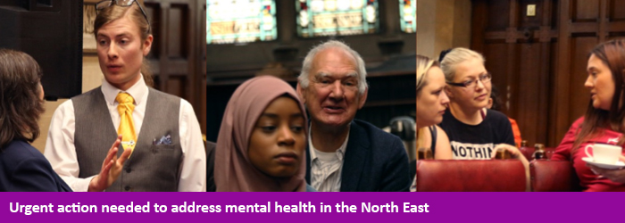 mental health, North East, Tyne and Wear